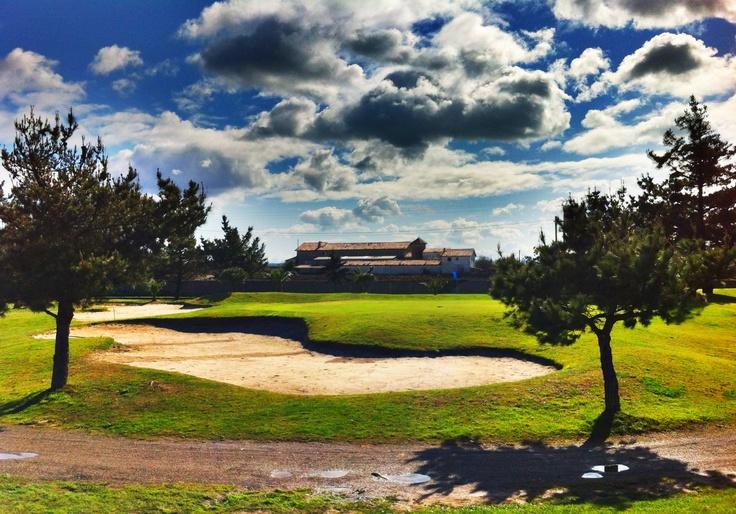 campo de #golf la junquera en #pedreña #cantabriainfinita #hdr