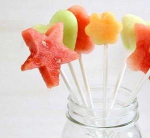 Fruity lollipop