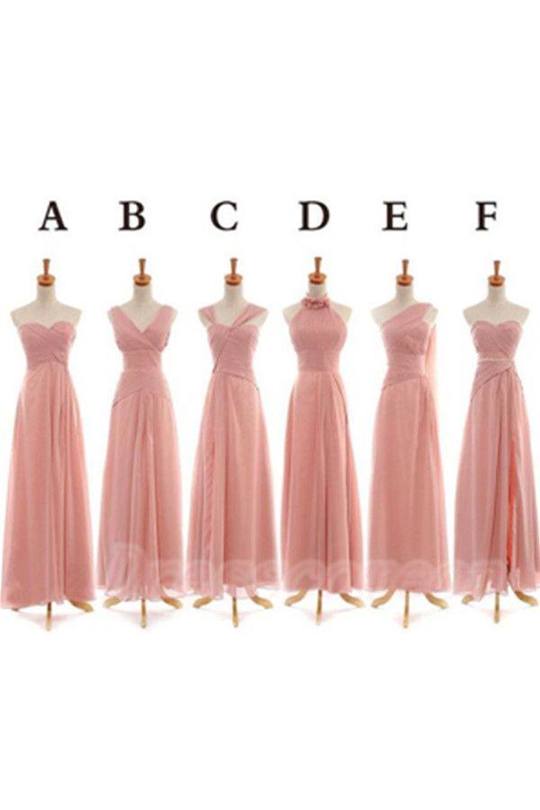 Elegant Simple Cheap Long Chiffon Bridesmaid Dresses,Bridesmaid Gowns,Pink Bridesmaids Dresses http://www.luulla.com/product/583176/elegant-simple-cheap-long-chiffon-bridesmaid-dresses-bridesmaid-gowns-pink-bridesmaids-dresses