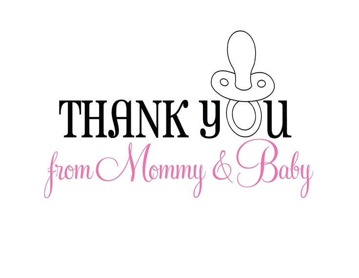 22 best Baby Shower Thank Yous images on Pinterest Baby shower - baby shower thank you notes