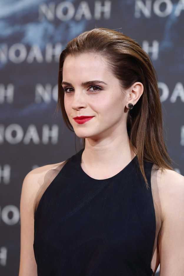 Emma watson shaved eyebrows model