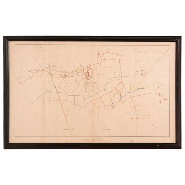 Best Comstock Lode Ideas Only On Pinterest Cartography - Gold vein map us geological virginia