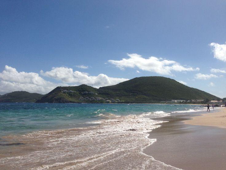 St Kitts Marriott Resort & Royal Beach Casino beach.
