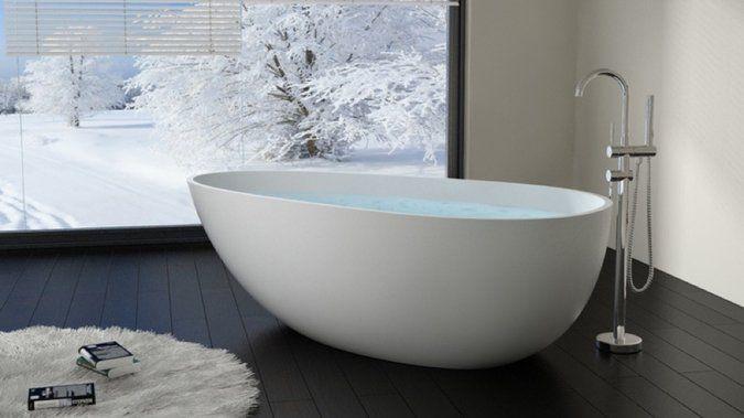 Baignoire Retro Sur Pied Pas Cher - Maison Design - Hosnya.Com