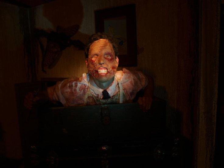 Lil Horrus at Blind Scream Haunted House