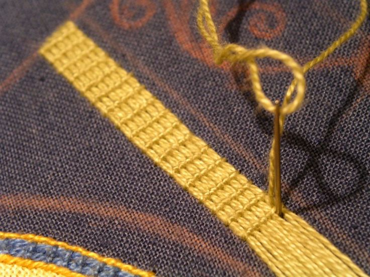 Photo – Documentation of my Bayeux-Stitch | Racaire's Embroidery & Needlework…                                                                                                                                                                                 More