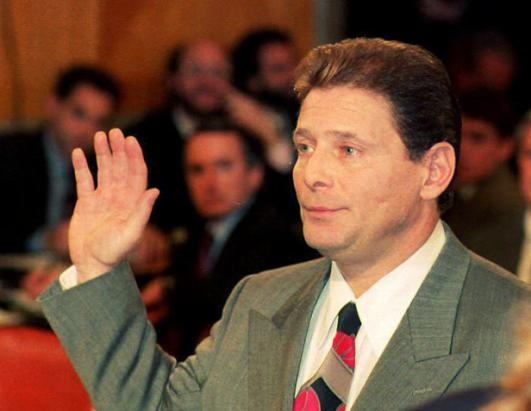 """Originally a member of the Colombo family, Salvatore """"Sammy the Bull"""" Gravano was inducted into the Gambino family in 1976. He worked with John Gotti to plot and commit the murder of the Gambino boss, """"Big Paulie"""" Castellano, so Gotti could be head of the family."""