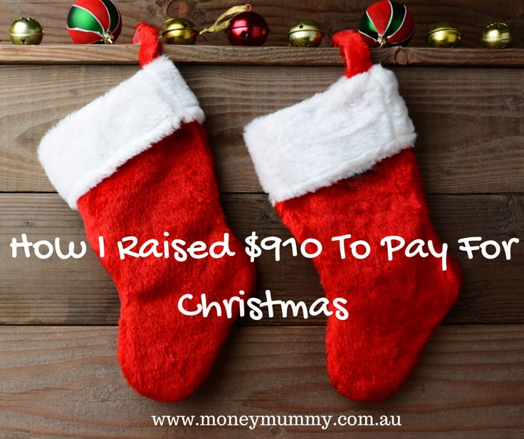 I have been busy lately raising some extra cash to pay for Christmas.  This is how I did it.