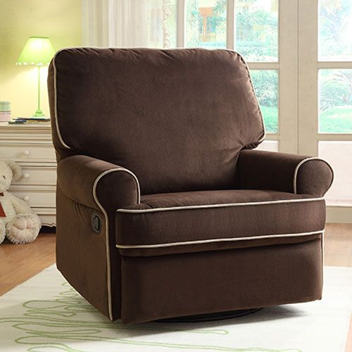 Birch Hill Coffee Swivel Glider Recliner Pulaski Furniture Recliners Chairs & Recliners Li