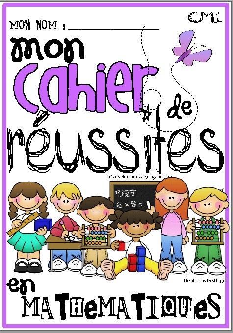 Cahier de réussites pour tracer les progrès de ses élèves pendant l'atelier de maths !