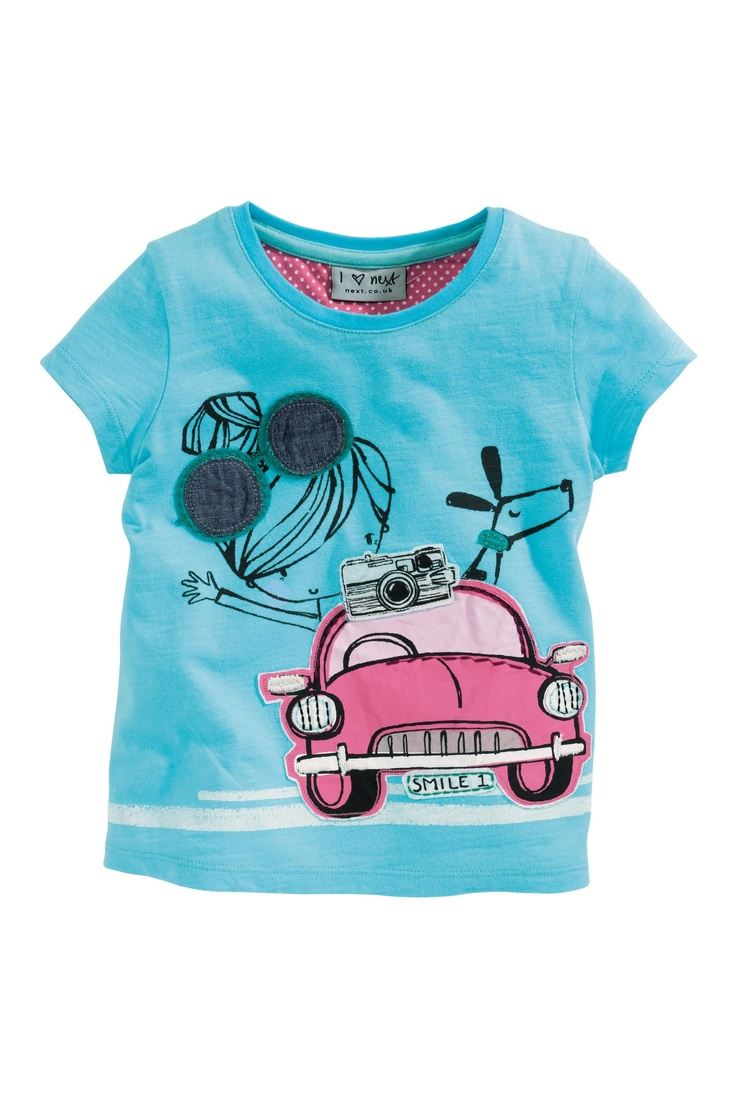 Buy Appliqué Top (3mths-6yrs) from the Next UK online shop