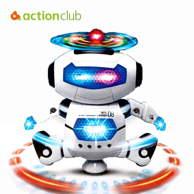 Baby Toy Robot Electronic Toys Pets For Children Dynamic Dance Cute Gift MusicToys Talking Hamster Light Lamp White HT219200WH