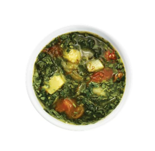 Green Borscht Soup with sorrel and spinach from #YummyMarket