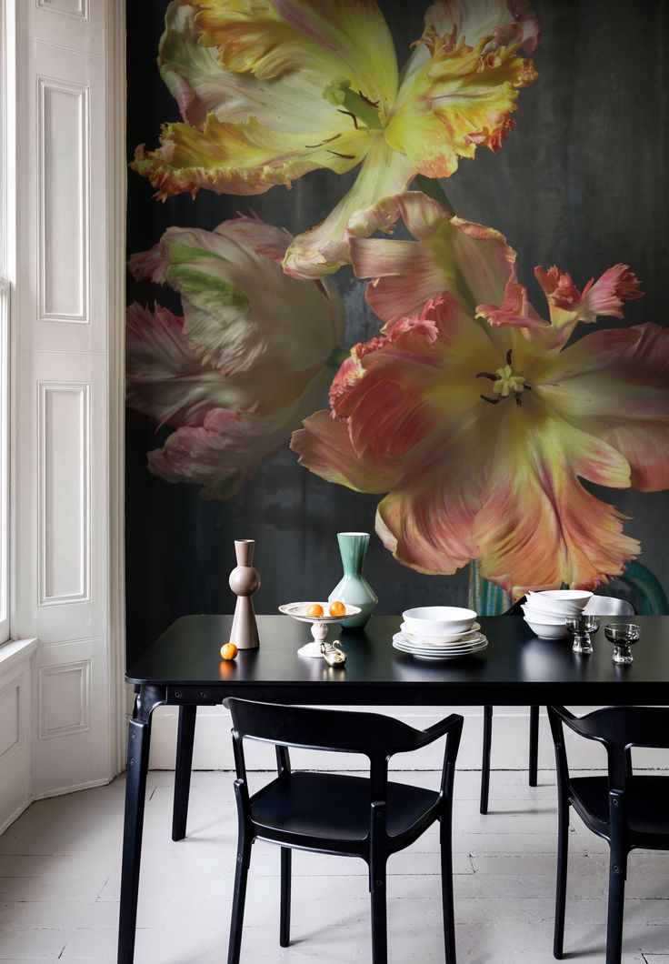 Bursting Flower Still Mural By Emmanuelle Hauguel Part 66