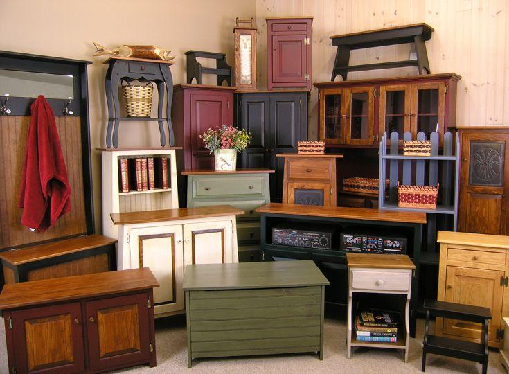 Unfinished Furniture Storage Cabinets