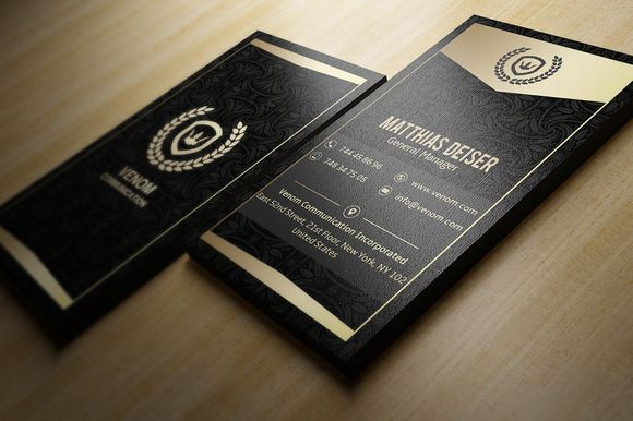 Gold and black business card black business card business cards gold and black business card black business card business cards and business reheart Images
