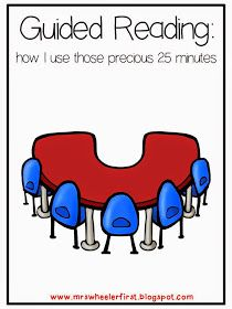 Mrs. Wheeler's First Grade Tidbits: Guided Reading 101: Those Precious 25 Minutes