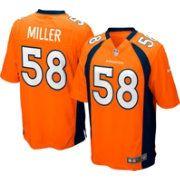 Nike Men's Home Game Jersey Denver Broncos Von Miller #58
