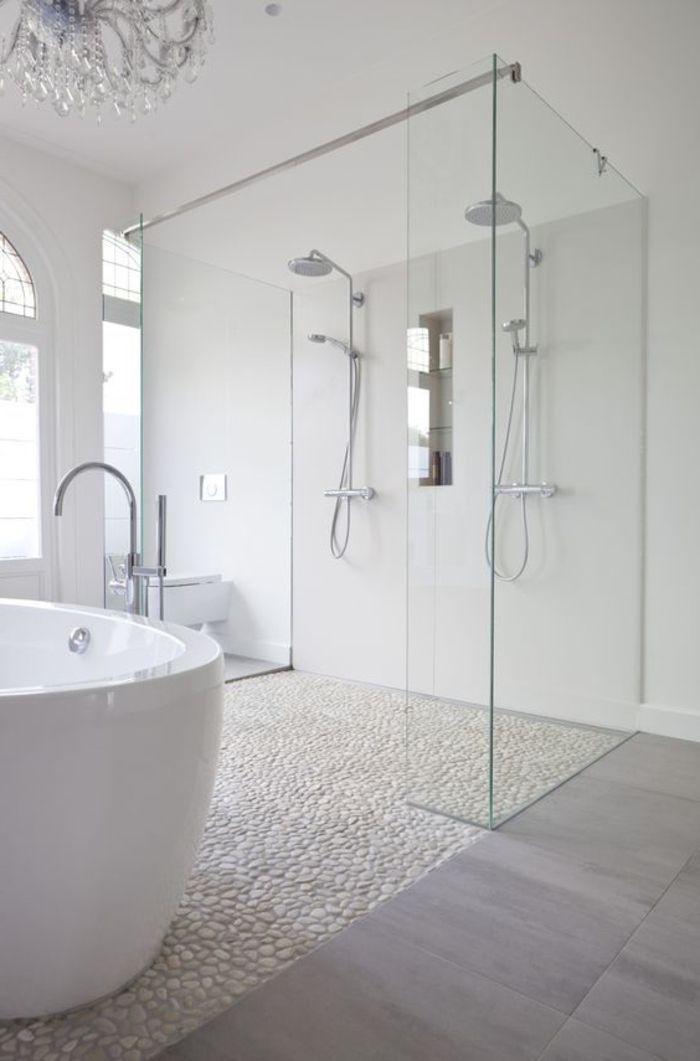 Connu Les 25 meilleures idées de la catégorie Galet salle de bain sur  OG04