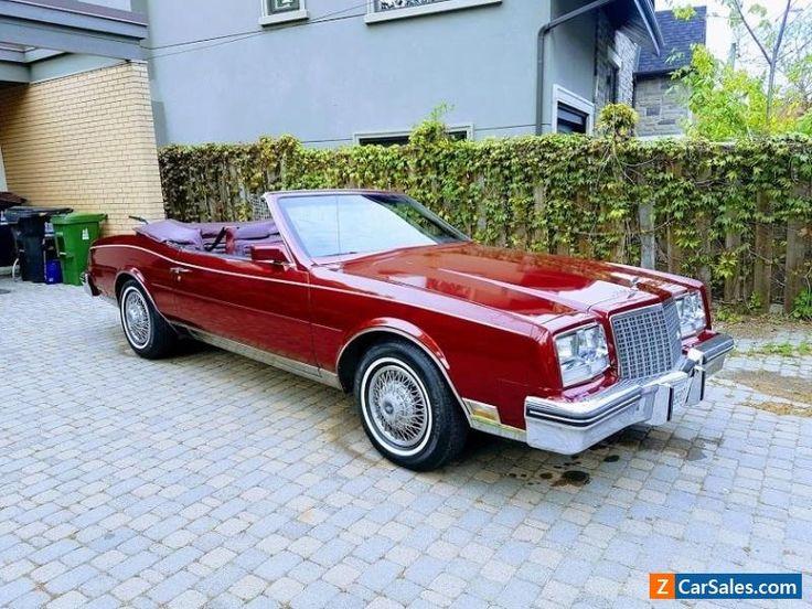 Auto For Sale Canada: 1983 Buick Riviera #buick #riviera #forsale #canada