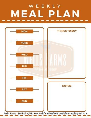 Best 25+ Weekly Menu Planners Ideas On Pinterest Meal Planner   Menu For  The Week  Menu For The Week Template