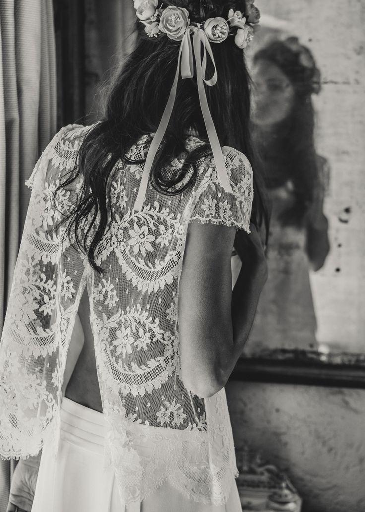Laure de Sagazan / Bridal Gowns/ French style / View more: http://thelane.com/brands-we-love/laure-de-sagazan