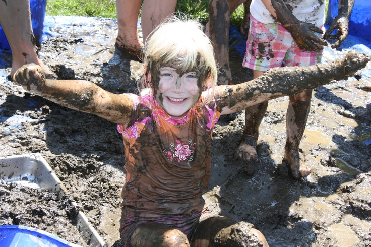 Paying early tribute to International Mud Day, 2012!