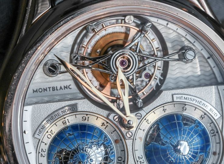 Montblanc Collection Villeret Tourbillon Cylindrique Geosphères Vasco Da Gama Watch Hands-On Hands-On