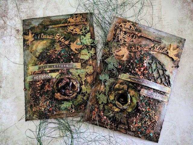 Scrapiniec inspirations on blogspot: Hobbit cards by Virag