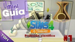 Sims 4. Expansión A trabajar. Mini guias para completar el trabajo.