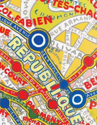 Paula Scher maps  TYPOGRAPHY AND IMAGE POSTER DESIGN