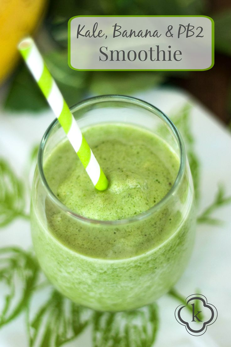 Kale Banana PB2 Smoothie Final-5-2-2
