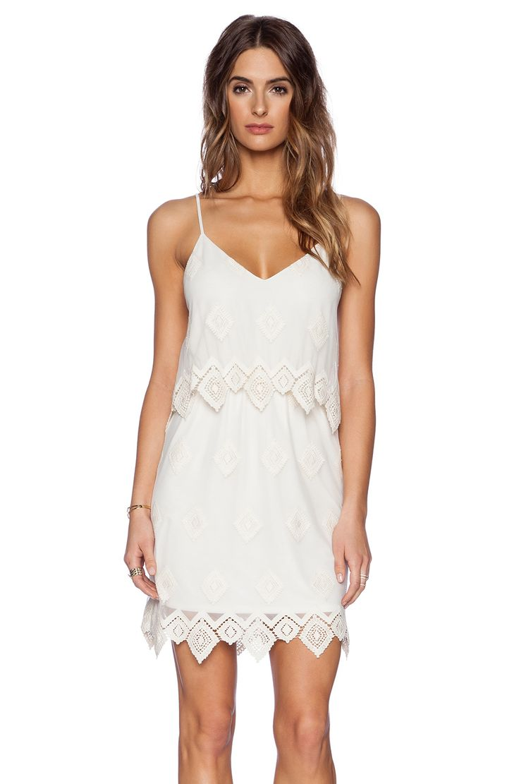 Next online party dresses - Liv Anna Lace Cami Dress In Ivory