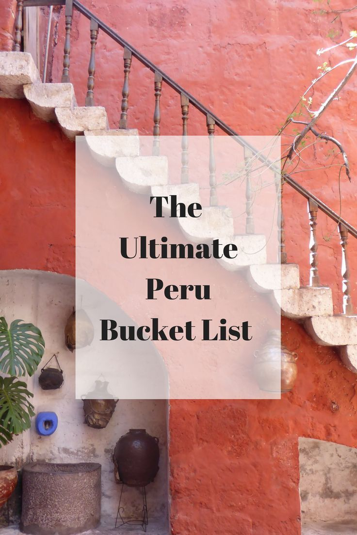 Here is the ultimate bucket list of things to do in Peru from sandboarding in Huacachina to fishing for piranhas in the Amazon—and, of course, trekking to the iconic Incan ruins Machu Picchu.