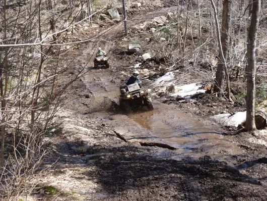 Check out the #best #atv #trailriding near #Kearney #Ontario http://www.sandlake.on.ca text us 416.419.3415  We offer 8 #Lakefront #Cottages on #sandlake