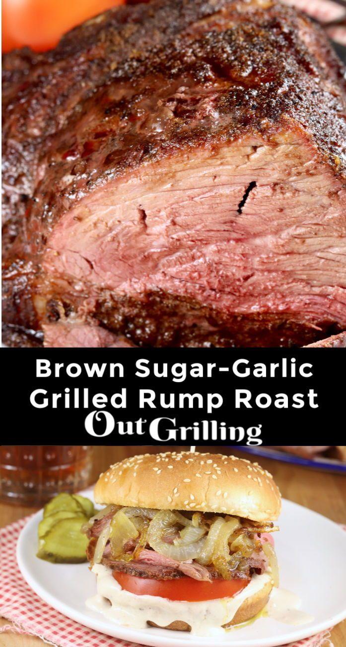 Jul 9, 2020 – Brown Sugar Garlic Rump Roast! Slice it thin and make the best roast beef sandwich you've ever had!