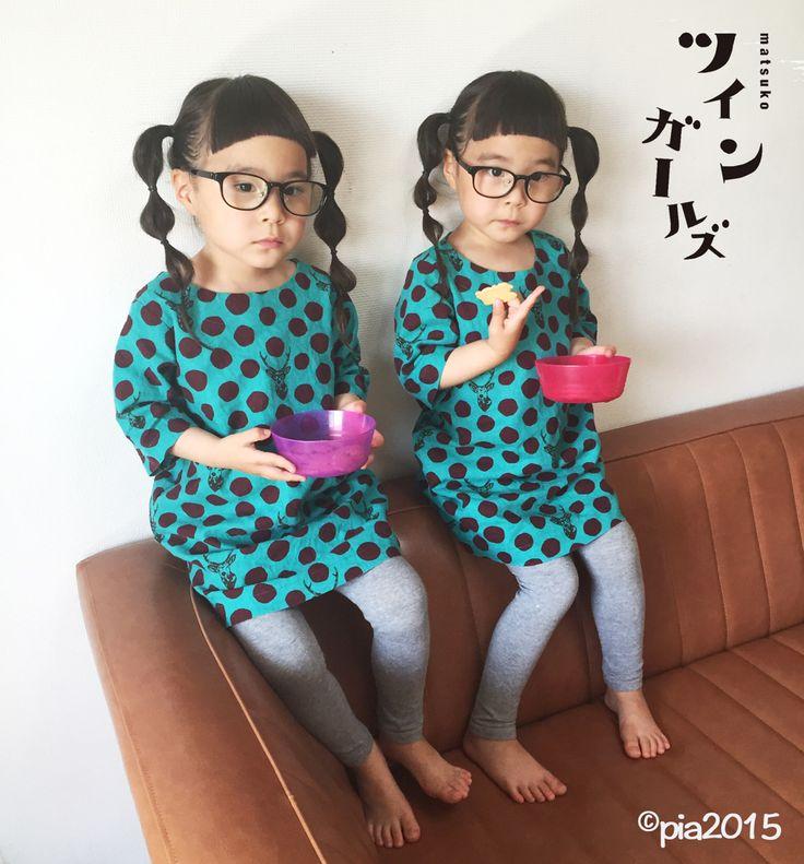 ツインガールズ https://www.amazon.co.jp/dp/4835628616/ref=cm_sw_r_awd_U1DswbHXD3NDN #twins #twingirls