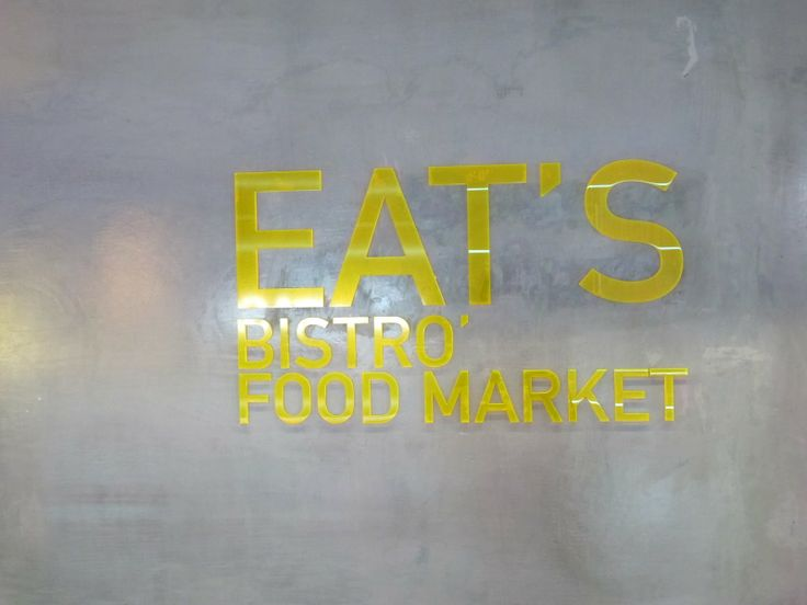 eat's bistro and food market at excelsior // milan #italy #foodie