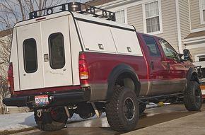 "A.R.E. Aluminum DCU ""camper lite"" build - Expedition Portal"