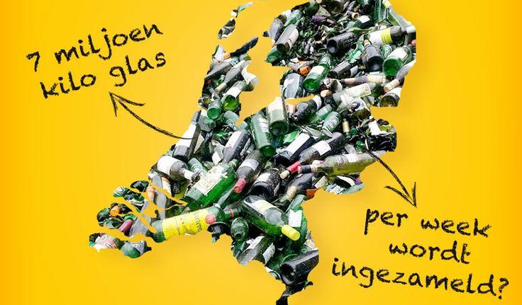 Al heel lang – sinds 1978 – scheidt Nederland haar glazen verpakkingen, maar liefst 350 miljoen kilo per jaar. Toch verdwijnt er nog steeds te veel verpakkingsglas in het restafval. Denk aan verpakkingen als wijnflessen, potjes en flesjes. Dit terwijl glas eindeloos hergebruikt kan worden zonder dat het aan kwaliteit verliest.  Lees verder op onze website.