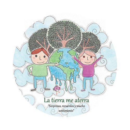 La tierra me aterra | Watercolor #drawing for a radio project