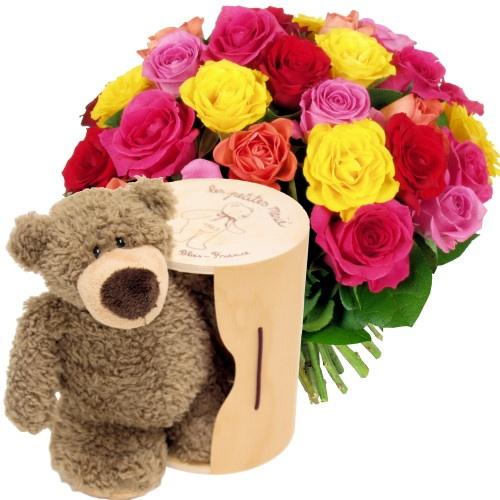 27 best images about nos bouquets on pinterest punch for Bouquet de fleurs dans une boite