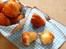 「豆腐のサータアンダギー」わちっこ | お菓子・パンのレシピや作り方【corecle*コレクル】