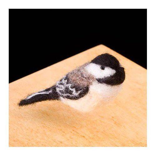 Woolpets Chickadee Needle Felting Kit