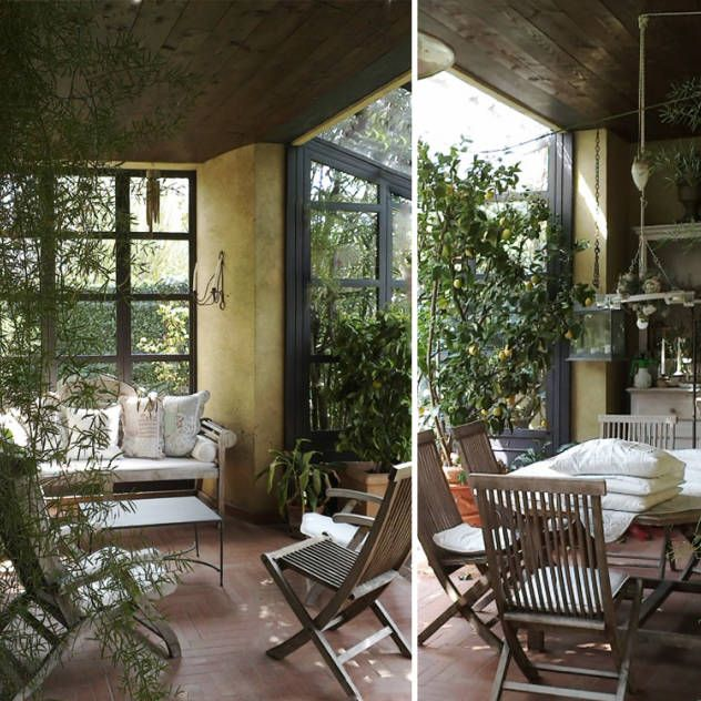 giardini d'inverno : Giardino d'inverno in stile rurale di Studio Maggiore Architettura