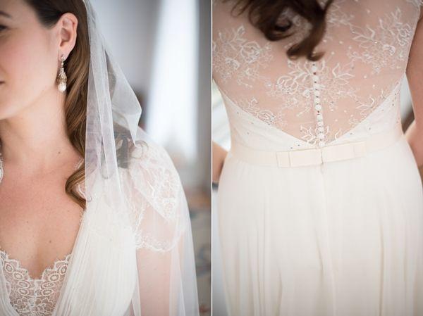 Elegant Wedding Dress details, Fabulous back wedding dress   Luxury Greek wedding