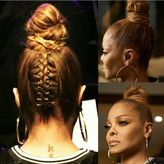 Janet Jackson Hairstyles Glamour Hair Hairstyles With Bangs Cool Hairstyles