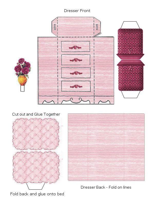 ... dollhouse plans free paper doll furniture cutouts miniature dollhouse
