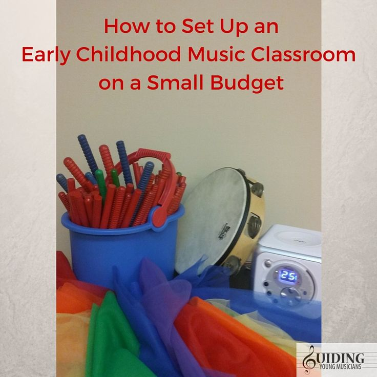 How to Set Up an Early Childhood Music Class on a Small Budget