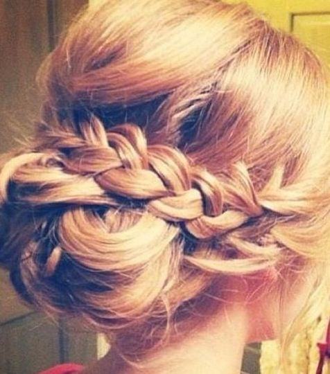 Hair for the wedding??